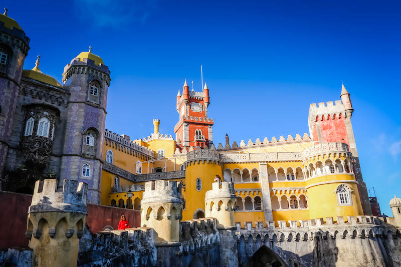 You'd be forgiven for thinking Sintra National Palace looks like the perfect home for a Disney princess.