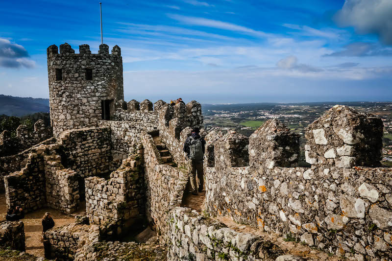 The Moorish Castle at Sintra is one of the most impressive we've ever seen.
