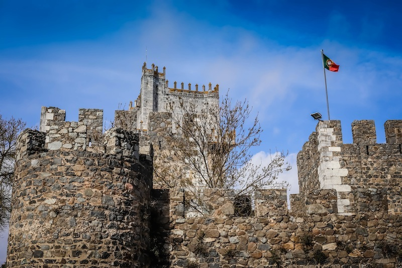 The keep at Beja is the tallest in Portugal: it is easy to imagine Rapunzel being imprisoned here.
