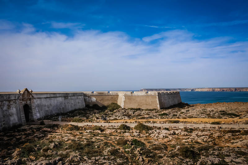 The fort near Sagres is impressive on its own, but the setting makes the experience spectacular.