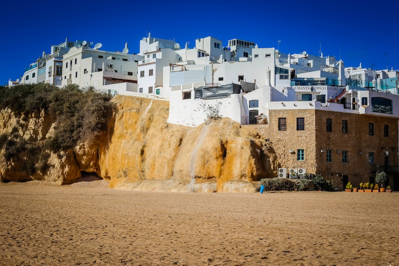 Albufeira, Portugal is popular with tourists for good reason: it is undeniably beautiful!