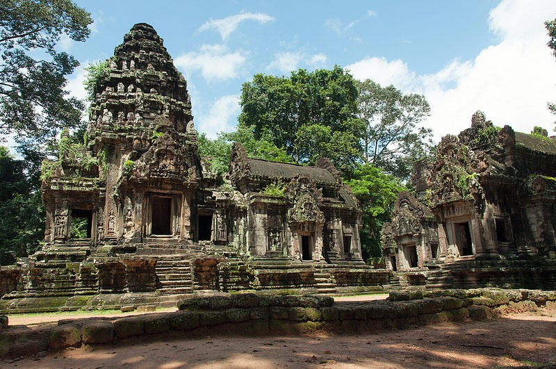 Thommanon – a small Hindu temple located just beyond Angkor Thom's East Gate