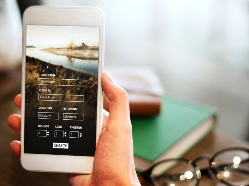 flight booking mobile