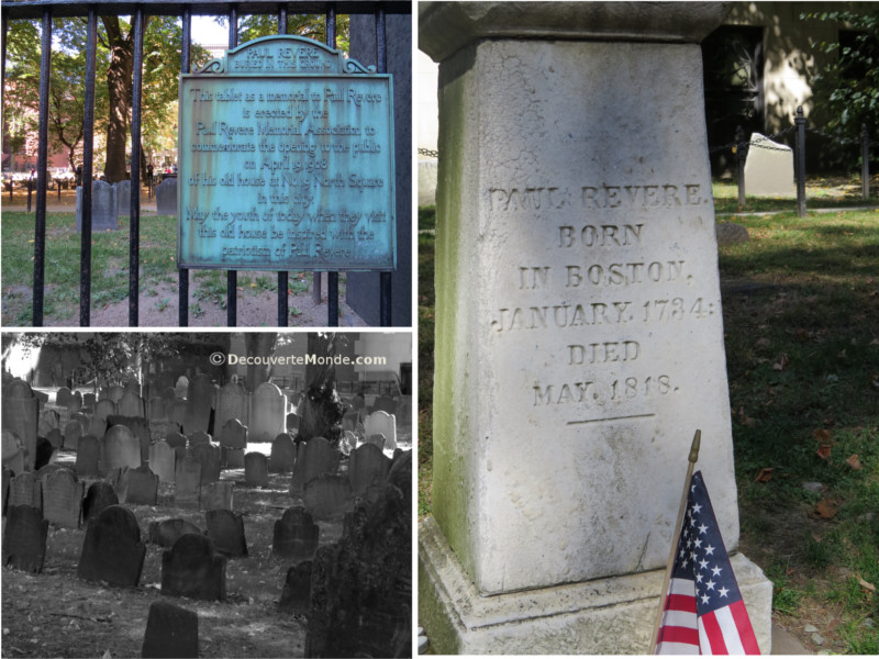 Where Adams, Hancock, Revere and Bejamin Franklin's father rest in peace