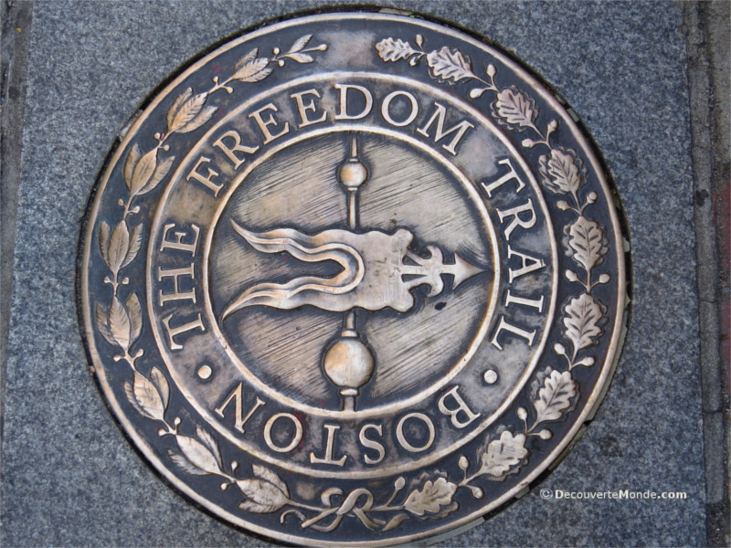 Following Boston's Freedom Trail
