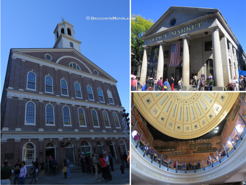 Quincy Market along the Freedom Trail