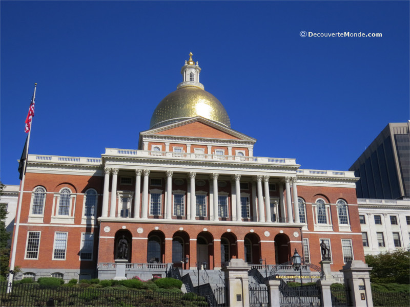 Boston's Massachusetts State House i