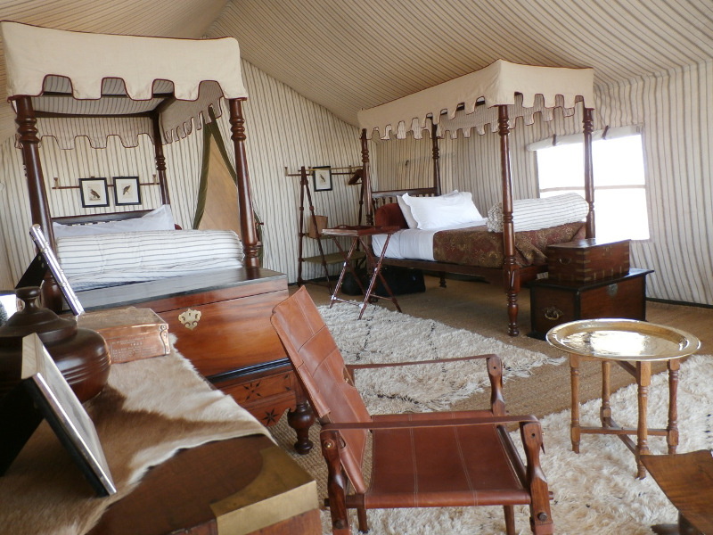 luxury accommodations in africa