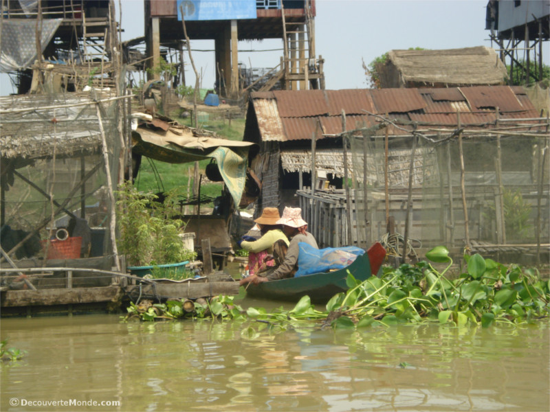 Cambodian Life on Tonle Sap