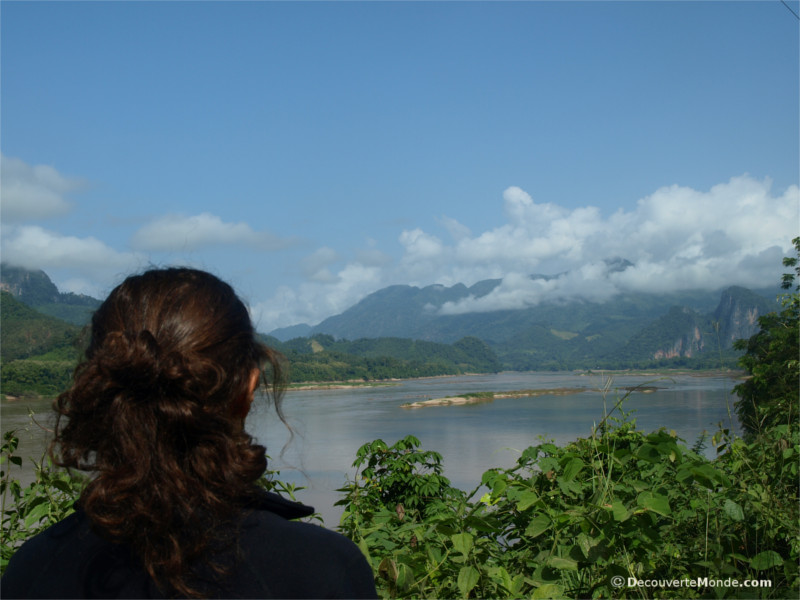 A view of the Mekong River