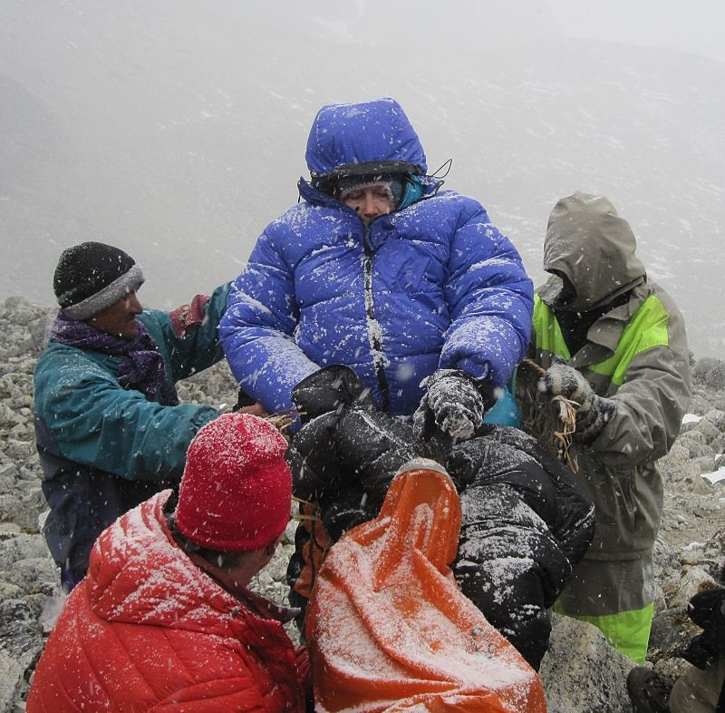mountaineering accidents