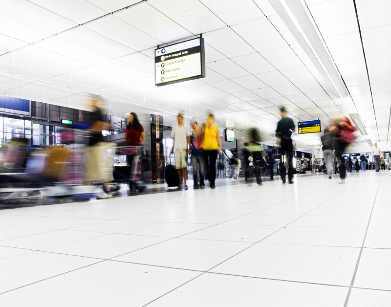 reduced airport time for nexus