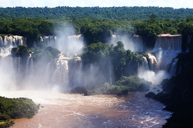 A view of Iguazu Falls, Argentina