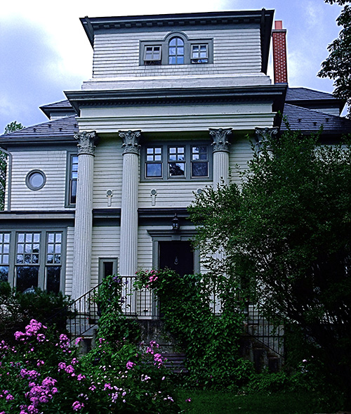 Charlottetown Heritage House in Cape Breton, Canada