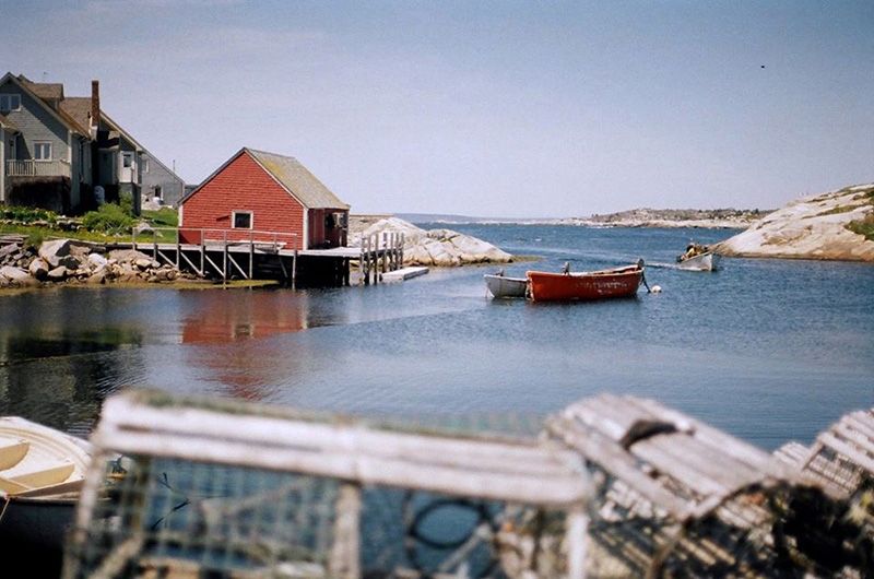 Peggy's Cove Village in Peggy's Cove, Nova Scotia
