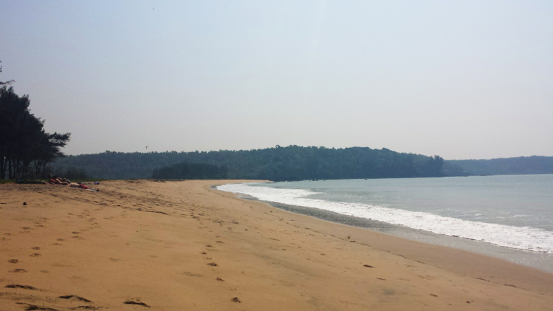 Galgibag Beach in Goa, India