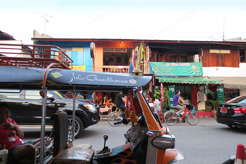 Use a bicycle to find things to do in Chiang Mai, Thailand.