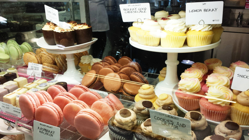 Pastries at Dean and Deluca Market