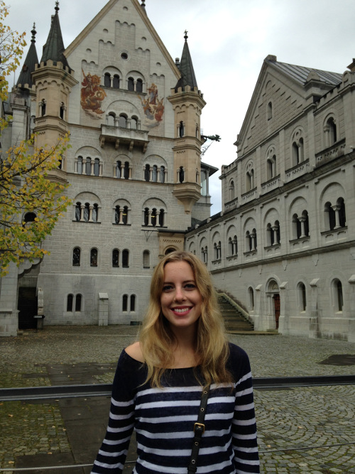 TuGo Customer Alisha Drinkwater Visits Neuschwanstein Castle Schwangau Germany
