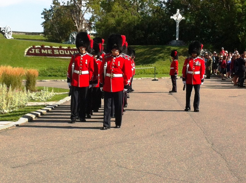 All summer, visitors can attend the ceremony of the changing of the guard