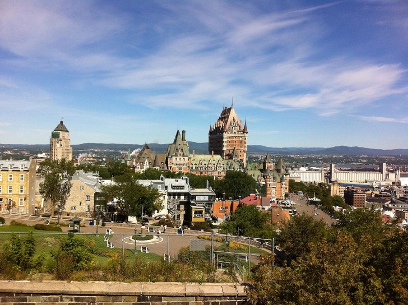 Château Frontenac is the most recognizable landmark of Quebec City