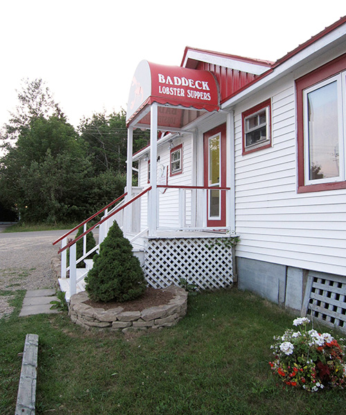 Baddeck Lobster Suppers restaurant in Nova Scotia 17 Ross St, Baddeck, NS B0E 1B0 Phone:(902) 295-3307