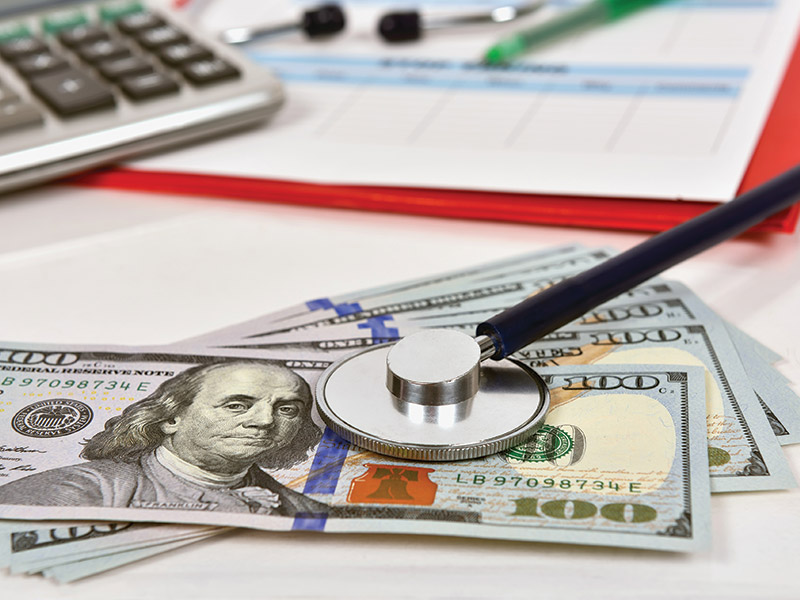 American hospitals often ask for an out of pocket deposit then bill the travel medical insurer directly.