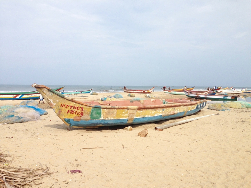 south india travel tip is eat fish in mamallapuram