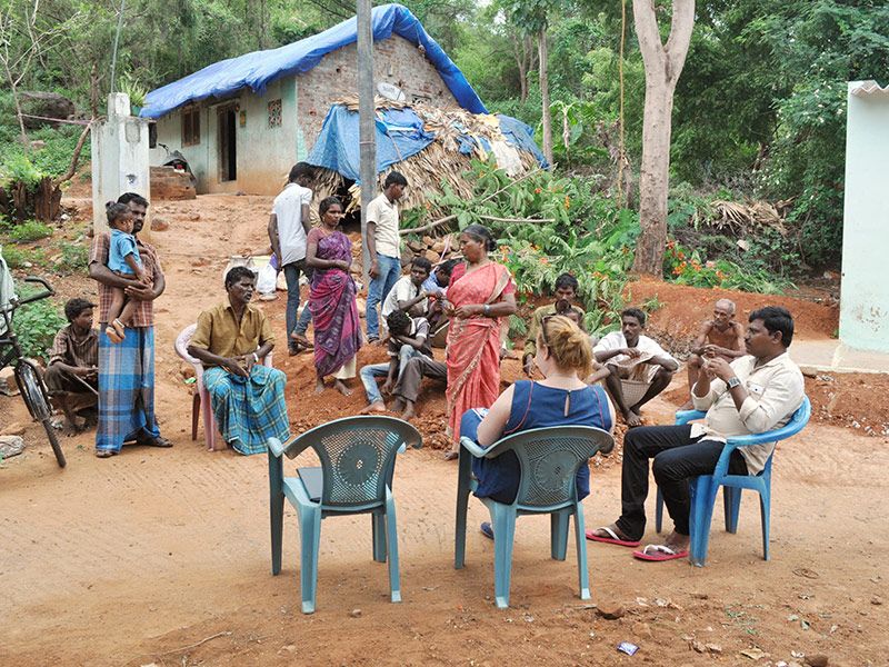 Tribal Village in Thirukalikundram