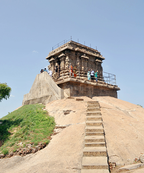 India travel tip - go to the observatory for views