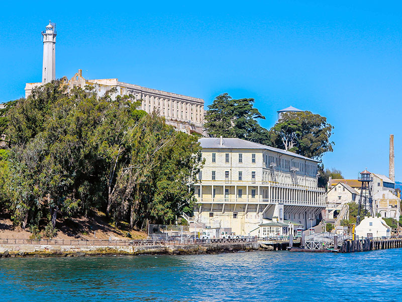 Alcatraz island san Francisco top tourist sights