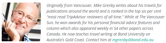 Mike Grenby, Travel Blogger, TuGo Canada
