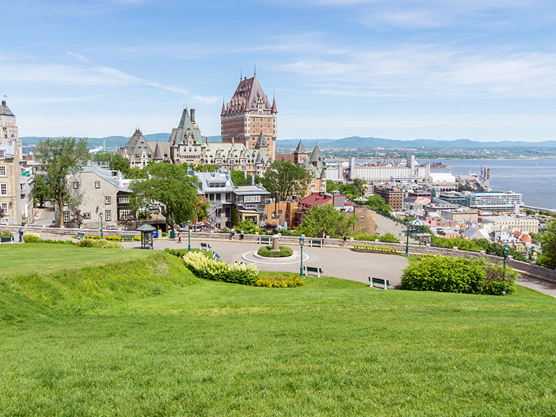 chateau Frontenac Quebec City Canada is beautiful in any season