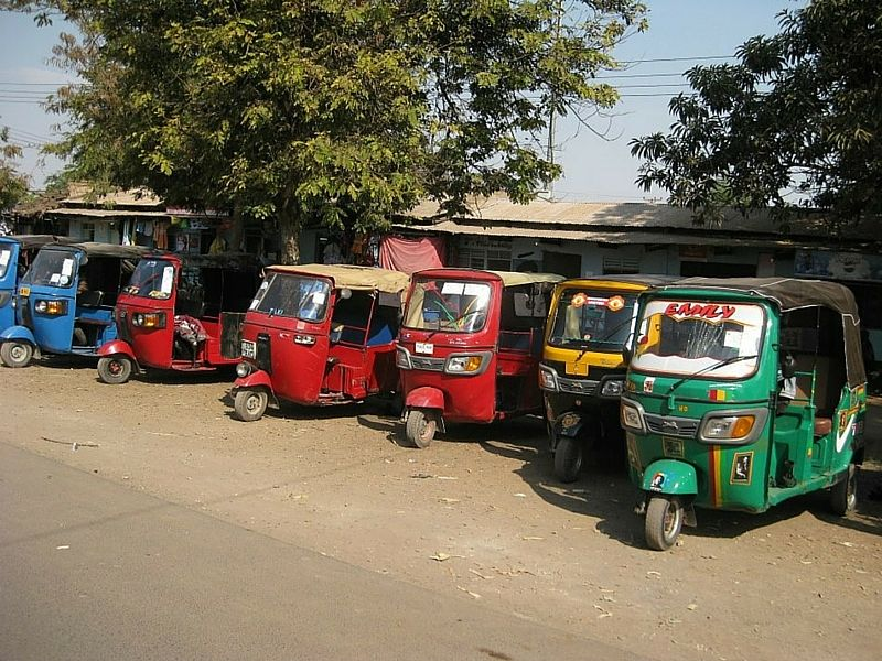 Tuk Tuks are fun and cheap transportation options for beginner backpackers