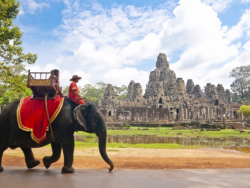 canadians can travel to Cambodia due to a great exchange rate
