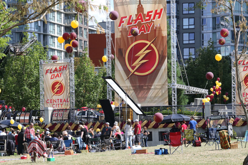 The Flash TV series filmed in Vancouver, Canada