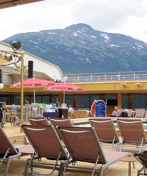 Alaskan Cruise Pool Deck
