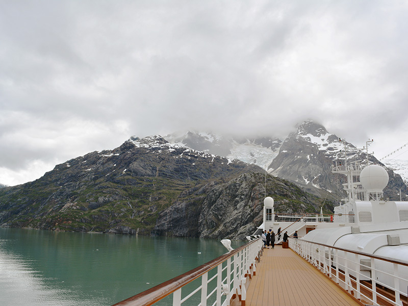 Alaskan Cruise through Glacier Bay