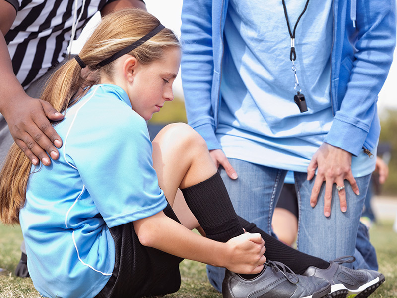 prepare for sports injuries in kids & youth