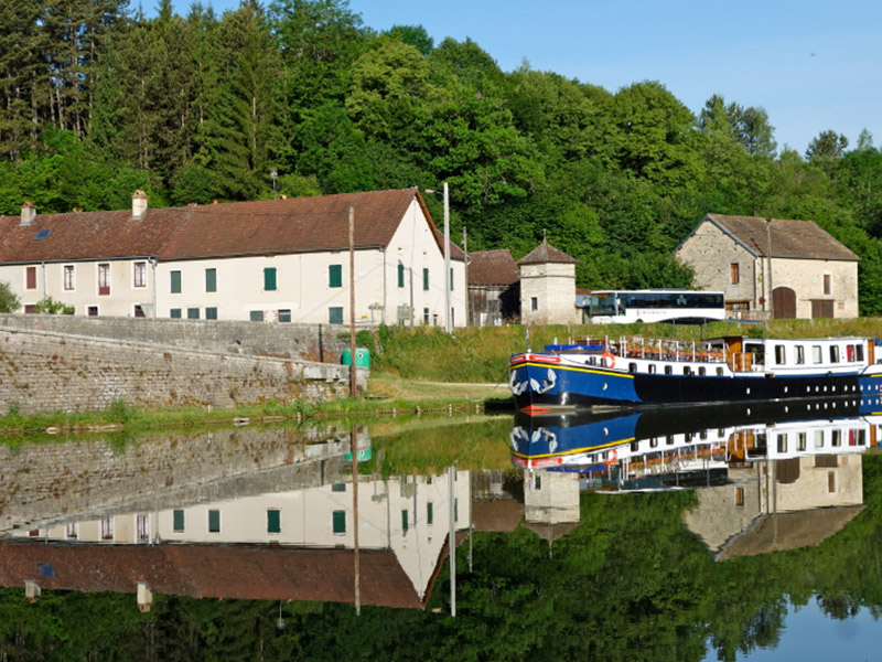 6-Plenty of time to reflect during hotel barge cruise in France