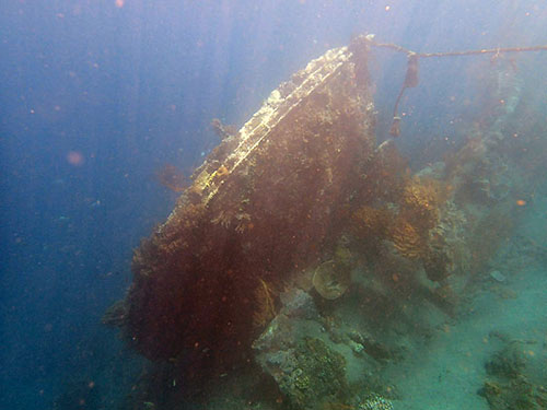 The Japanese Shipwreck
