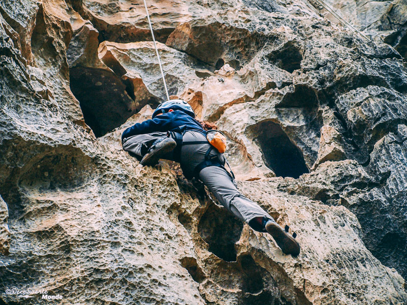 rock climbing in China with Multi Trip Annual Insurance