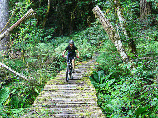 cross country mountain biking in Oregon