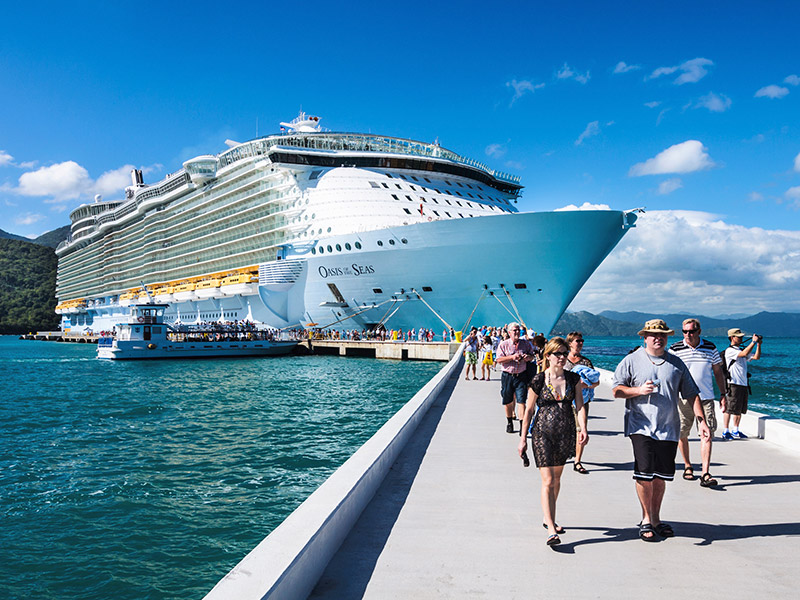 Caribbean cruise beach vacations