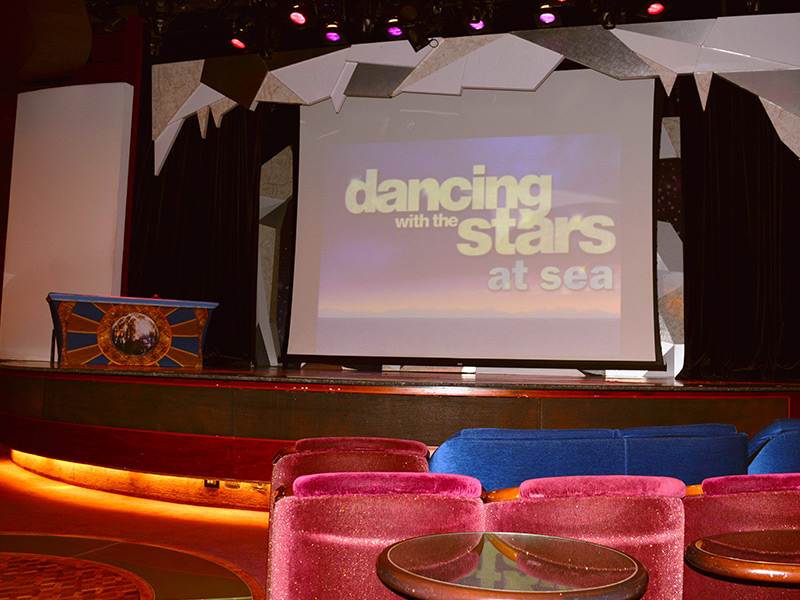 Dancing with the stars cruise activities