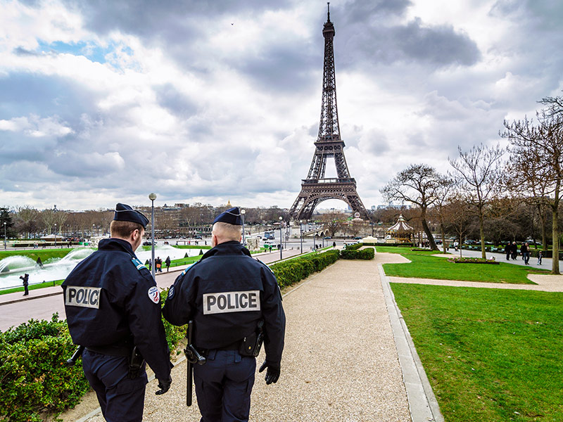 Frequent travel advisories and increased security for popular tourist locations in Europe