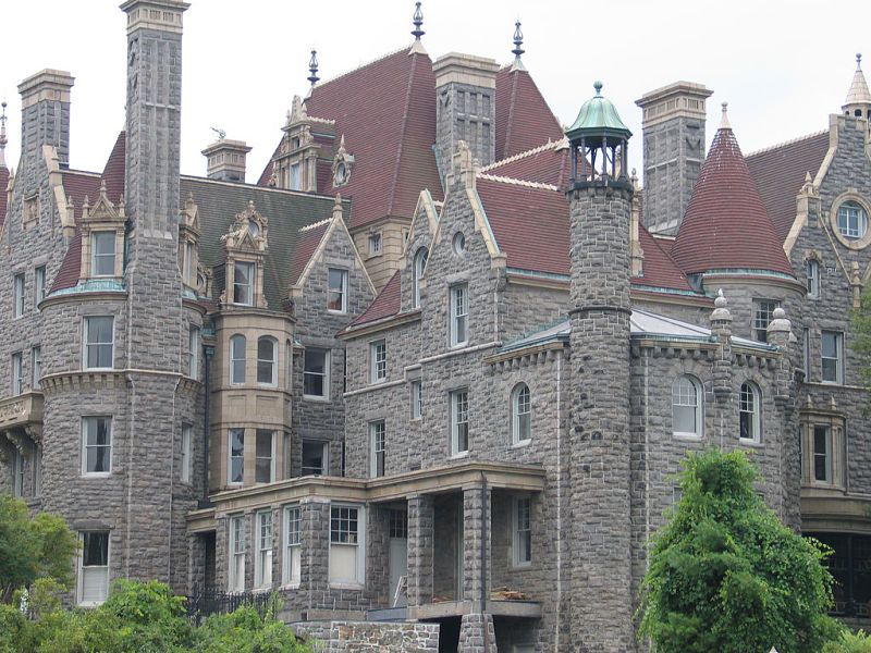 Boldt Castle on Heart Island, New York