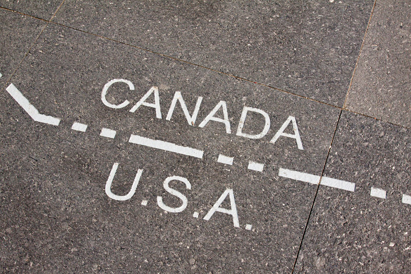 Canada US Border Data Sharing