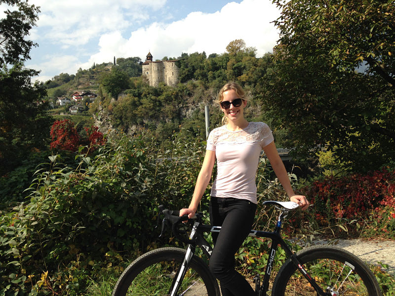 TuGo Customer Alisha Drinkwater Cycles Italy