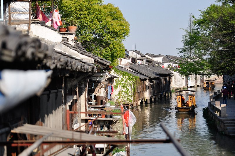 Rural village in Wuxi, China